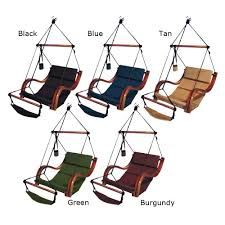 Outdoor Hanging Lounge Chair Kings Pond Hammaka Hammocks Nami Hanging Lounge Chair In Natural