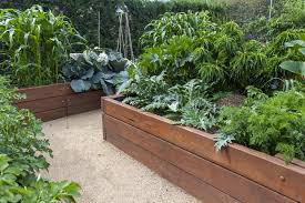 Making A Vegetable Garden Box by 32 Raised Wooden Garden Bed Designs U0026 Examples