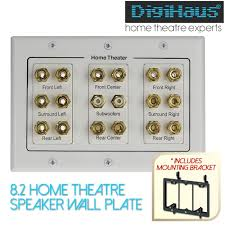 best 7 2 home theater speakers home theatre 8 2 speaker wall plate include mounting bracket 5 1 7