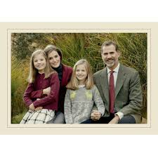queen letizia king felipe vi and their daughters coordinate for