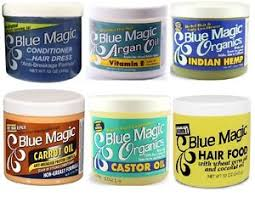 greaser hairstyle product blue magic hair cream conditioner grease pressing oil argan