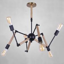 Atomic Chandelier Fashion Style Adjustable Chandeliers Industrial Lighting