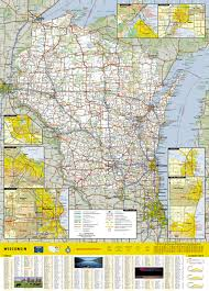Appleton Wisconsin Map by Wisconsin National Geographic Guide Map National Geographic