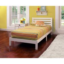 Twin Bed Room Aiden Twin Bed White Walmart Com