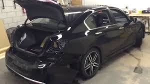 honda accord bumper replacement cost 2016 honda accord rear bumper removal how to by lockdown