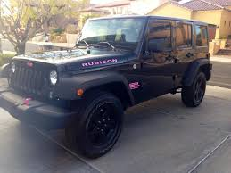 jeep lifted pink jeep on pink accents rubicon and jeeps