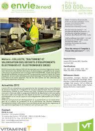 envie 2e nord a social integration eco company changemakers