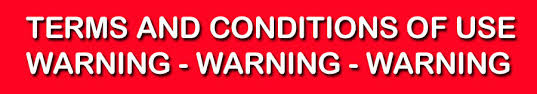 Terms And Conditions Of Use by Terms And Conditions Of Use Disclaimer Warning