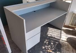 Grey Reception Desk Grey Reception Desk Toronto New U0026 Used Office Furniture