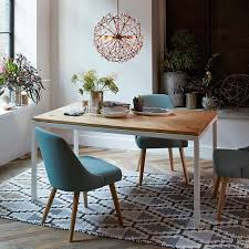 Box Frame Chevron Dining Table West Elm - West elm dining room chairs