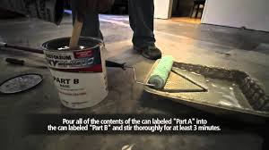 garage project rust oleum epoxy shield garage floor coating