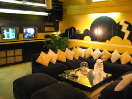 Yellow Livingroom by Black And Yellow Living Room Ideas