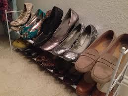 Closet Shoe Organizer Ideas Shoe Racks For Closets Innovative Shoe Racks For Closets