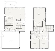 3 Bedroom 2 1 2 Bath Floor Plans Chiquita Grove Plan A