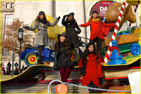 thanksgiving day pictures fifth harmony macy u0027s thanksgiving day parade performance watch