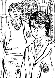 25 harry potter coloring book ideas