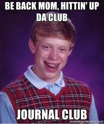 Meme Journal - how to start a journal club ptbraintrust