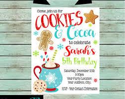 cocoa invite etsy