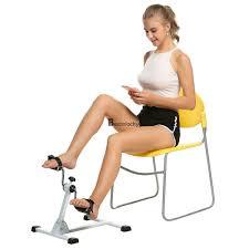 Armchair Exercise Bike Pedal Exerciser Mini Cycle Fitness Exercise Bike Arm Leg Exercise