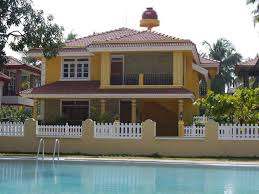 beautiful portuguese style detached villa with shared pool in property image 1 beautiful portuguese style detached villa with shared pool in colva south