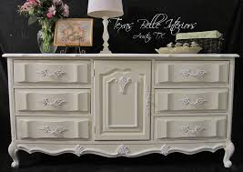 Ivory Painted Bedroom Furniture by Chalon Cherry French Provincial White And Ivory Dresser 495 00