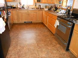 kitchen stylish kitchen flooring ideas with pretty brown wooden