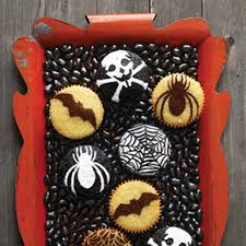 halloween halloween cupcakes gallery stenciled chocolate recipe