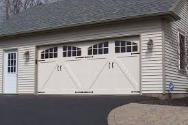 exterior design exciting amarr garage doors for inspiring garage traditional exterior design with beige wood siding and amarr garage doors