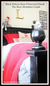 Pottery Barn Paint Colors 2014 Freckle Face Pottery Barn Black Distressed Finish The