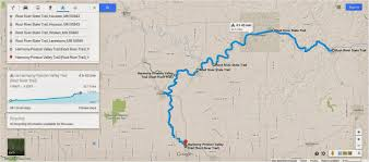 How To Draw A Route On Google Maps by Mn Bike Trail Navigator Google Maps Adds Elevation Profiles For