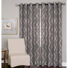 semi opaque matine taupe indoor outdoor window curtain panel 52