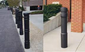 decorative bollards covers sleeves caps accessories prefab