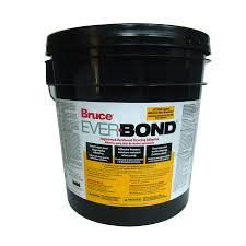 shop bruce 4 gallon trowel hardwood adhesive at lowes com