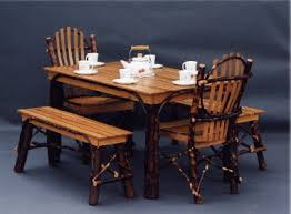 hickory dining room chairs rustic hickory archives woodland creek furniture