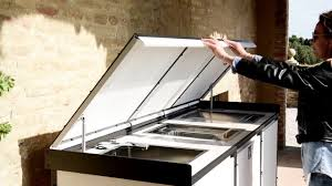 linear kitchen luxury outdoor kitchens by samuele mazza linear kitchen with
