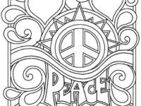 coloring pages teenagers girls download
