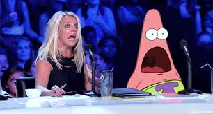 Mother Of God Meme Gif - judge patrick star and judge britney spears omg gif