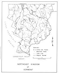 Map Of Northeast Vermont Maps Old Stone House Museum
