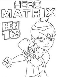 ben ten coloring pages games games ben 10 birthday