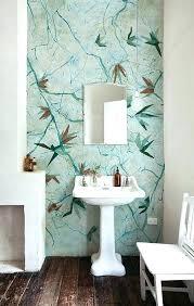wallpaper ideas for bathrooms bathroom wallpaper designs chic idea bathroom wallpaper designs
