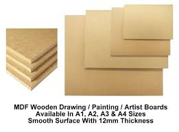 wooden board a4 a3 a2 a1 mdf wooden board drawing board painting artist