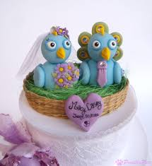 peacock wedding cake topper peacock wedding cake topper bird cake topper and