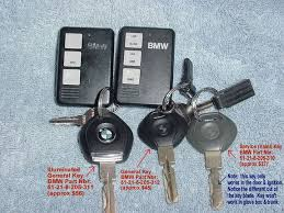 bmw valet key 2001 2002 s54 mz3 owners what did your car come with