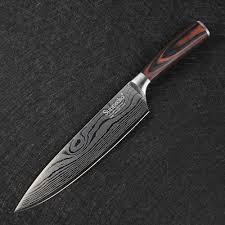 laser kitchen knives online shop sunnecko professional 8 u0027 u0027 inch chef knife japanese