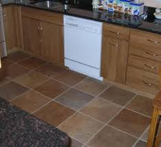 Best Floor For Kitchen by Flooring Here Is A Kitchen With Slate Tile F