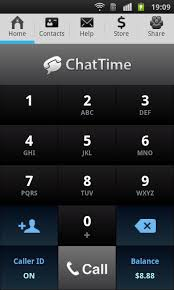 call for android international calling with the chattime app for android