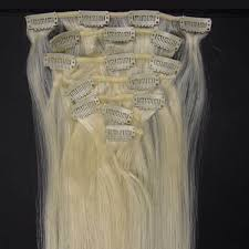 Human Hair Extensions With Clips 16 inch sale straight clip in human hair extensions 60 platium