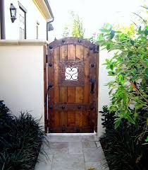 Backyard Gate Ideas Architecture Traditional Landscape With The Stairs On The Outside