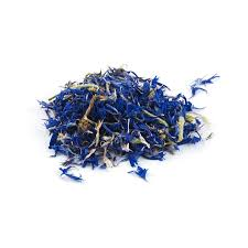 dried cornflowers use them to decorate food or make natural food