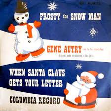 gene autry cass county boys frosty snowman